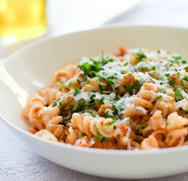 Quick Easy Tuna Pasta-4