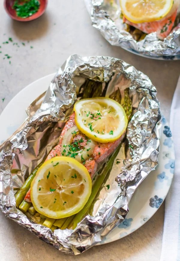Easy Foil Baked Salmon Primavera Kitchen Recipe