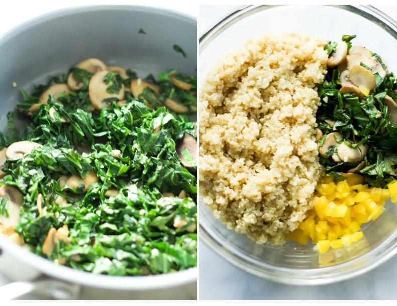Kalamata Collard Quinoa Salad Primavera Kitchen Recipe