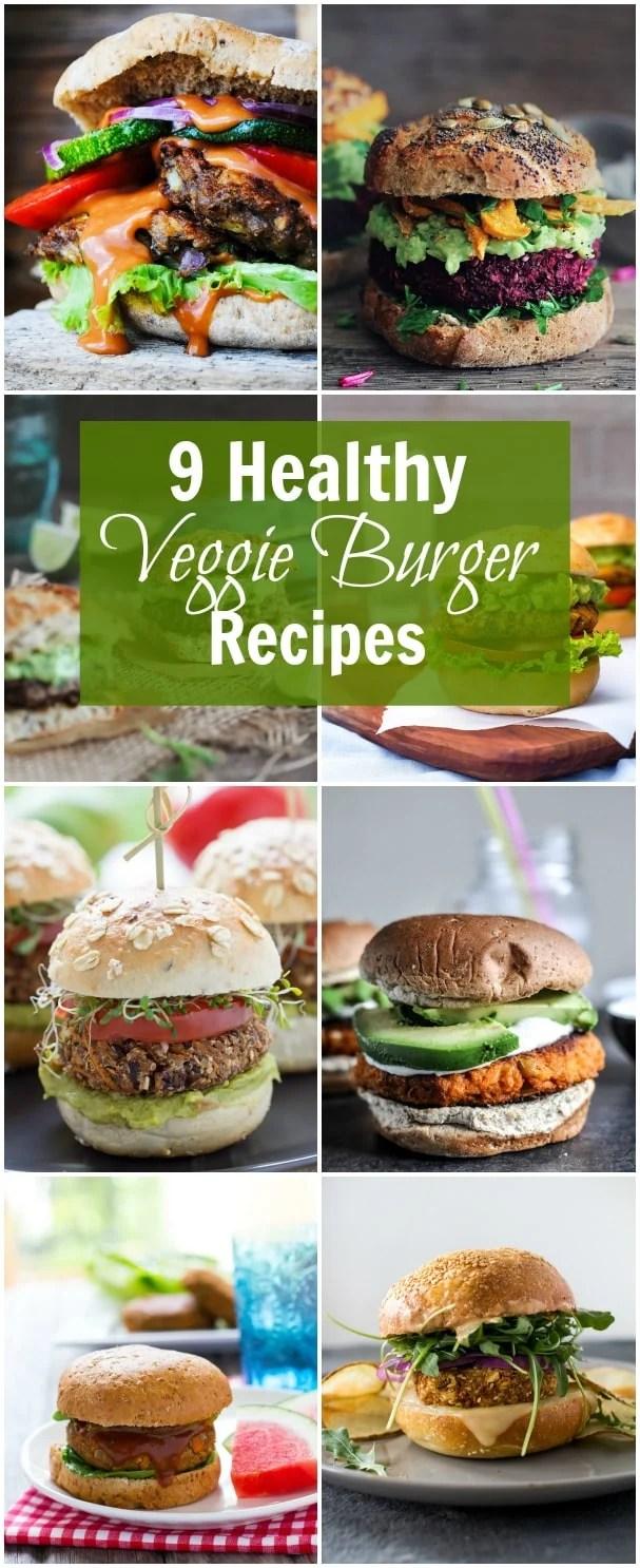9 Healthy Veggie Burger Recipes Primavera Kitchen