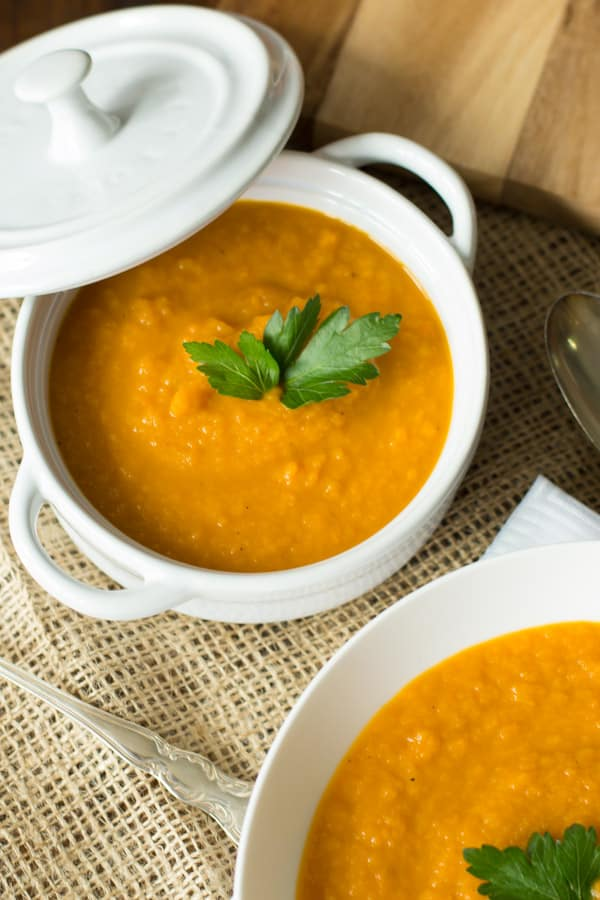 Spicy Carrot Soup.