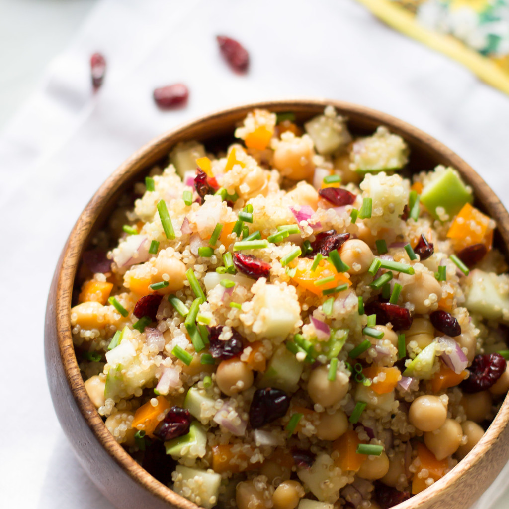 Cranberry Apple Quinoa Salad Primavera Kitchen Recipe