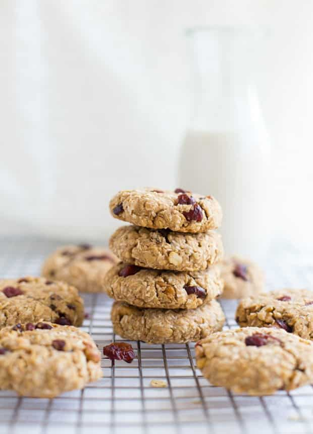 Cranberry Coconut Oatmeal Cookies.
