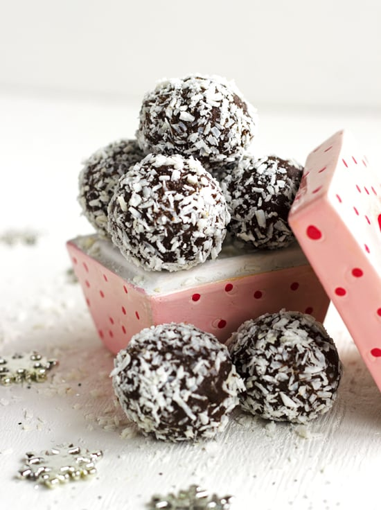 Gluten-free Chocolate Truffle with Coconut and Almond Butter.