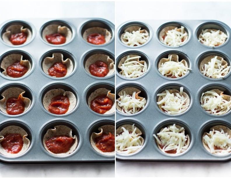 Mini Tortilla Pizzas Primavera Kitchen Recipe