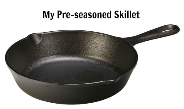 Pre-seasoned Skillet
