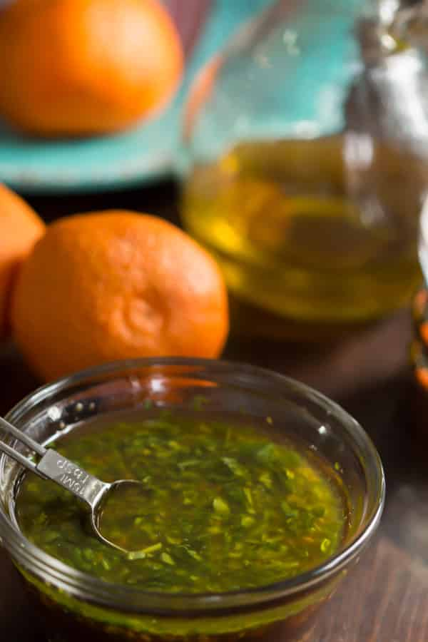 Clementine Salad Dressing - Clementine salad dressing is an absolute breeze to put together. Capitalize on winter's favorite citrus and make this dressing immediately!