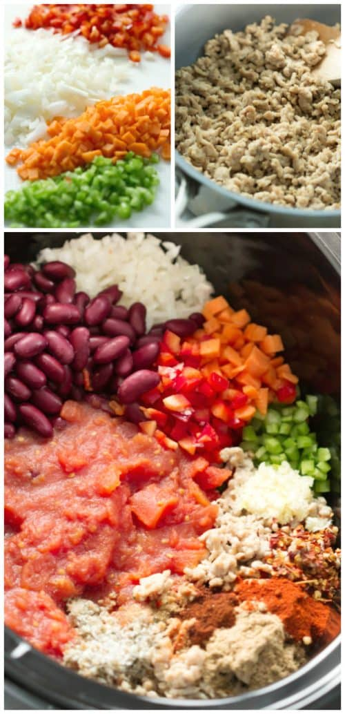 Super Easy Slow Cooker Chili Primavera Kitchen Recipe