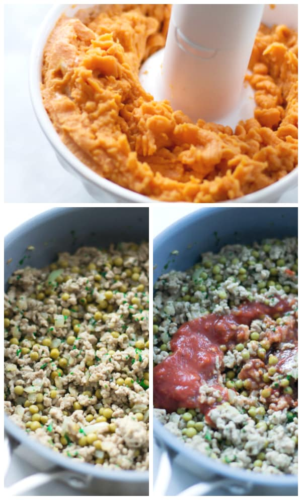 Sweet Potato Shepherd's Pie - If you want to cut the white potatoes out of your diet, try this Sweet Potato Shepherd's Pie, which has all of the flavours of winter comfort food.