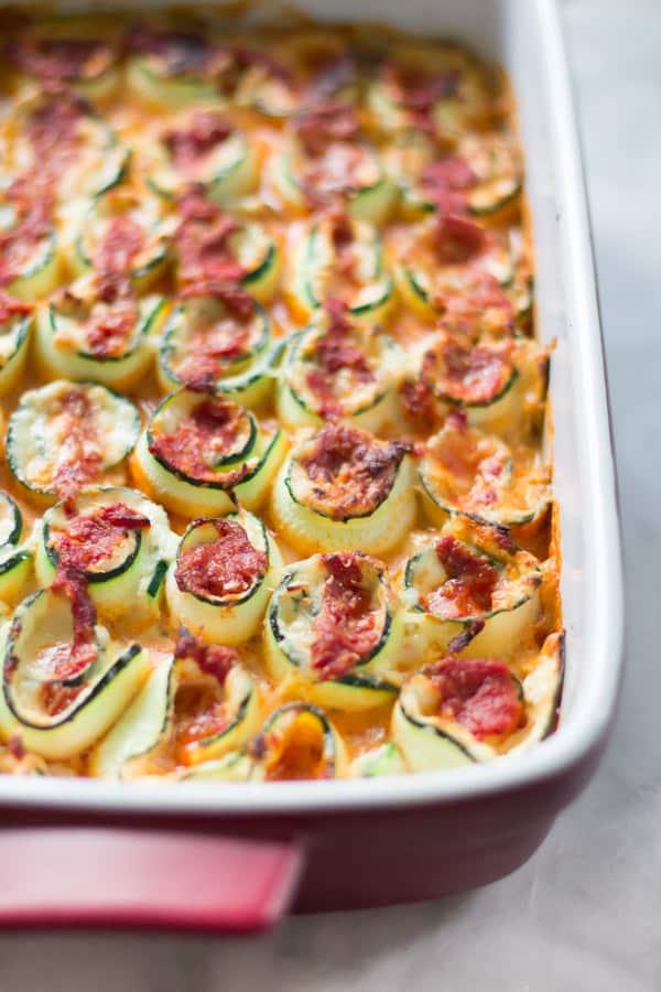 Zucchini Lasagna Rolls Primavera Kitchen Recipe