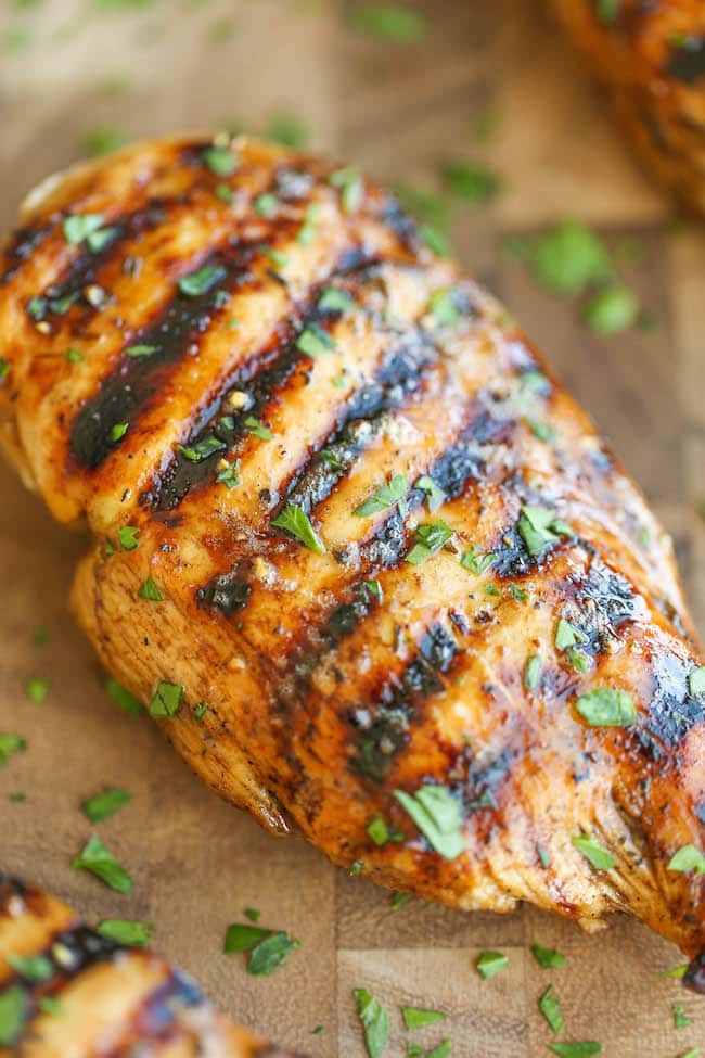 Easy Grilled Chickenfrom Damn Delicious.