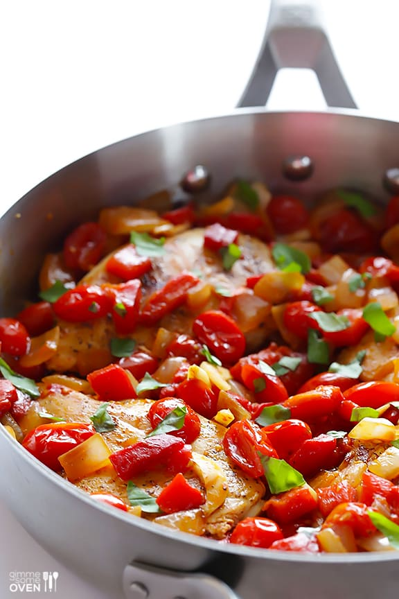 Easy Italian Chicken Skillet from Gimme Some Oven.
