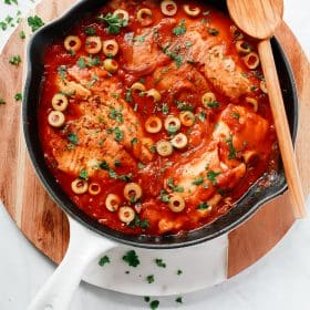 3-Ingredient Tilapia Skillet Recipe.