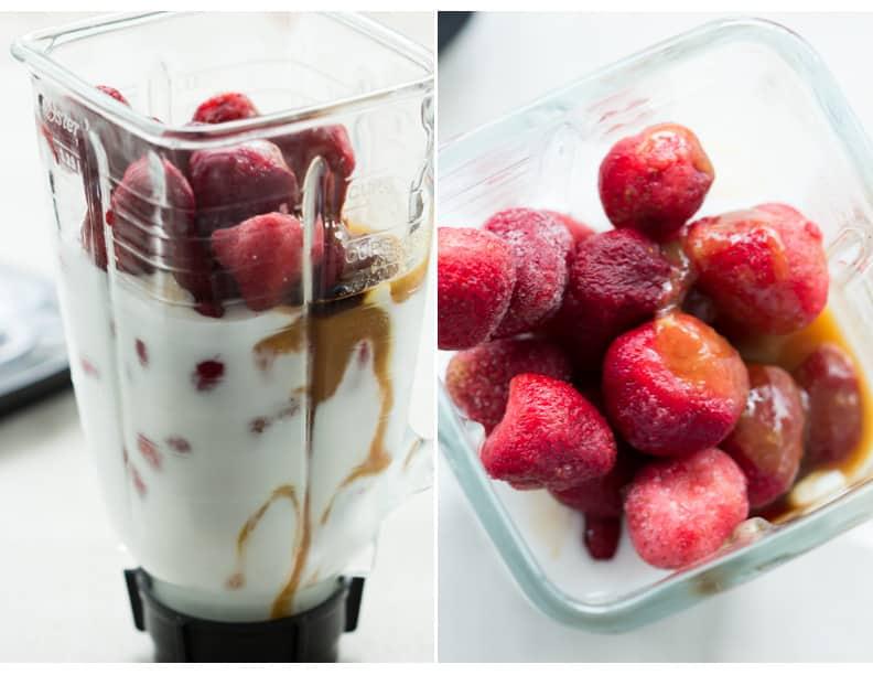 Dairy-Free Strawberry Ice Cream Primavera Kitchen Recipe