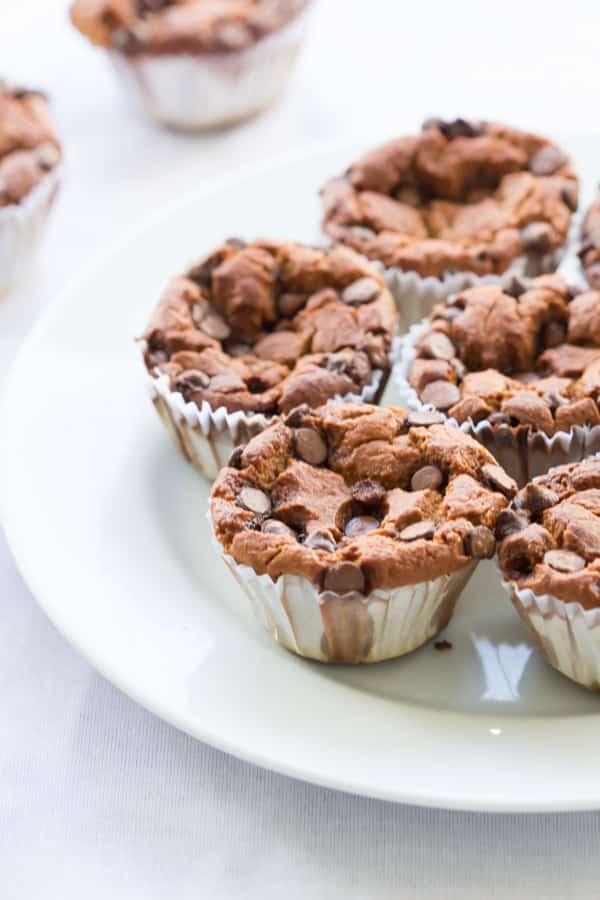 Blender Banana Oatmeal Muffins-2