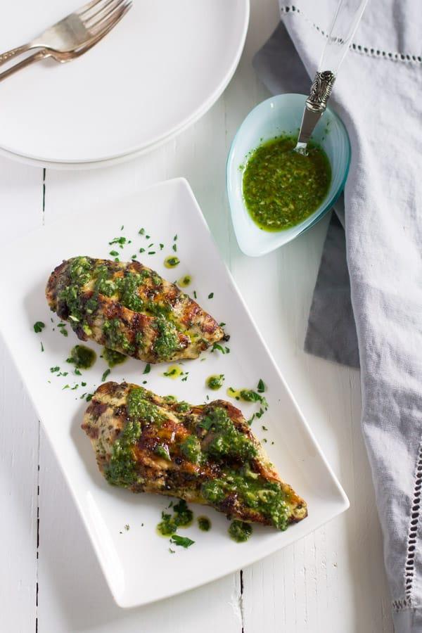 Grilled Chicken Chimichurri Recipe Primavera Kitchen