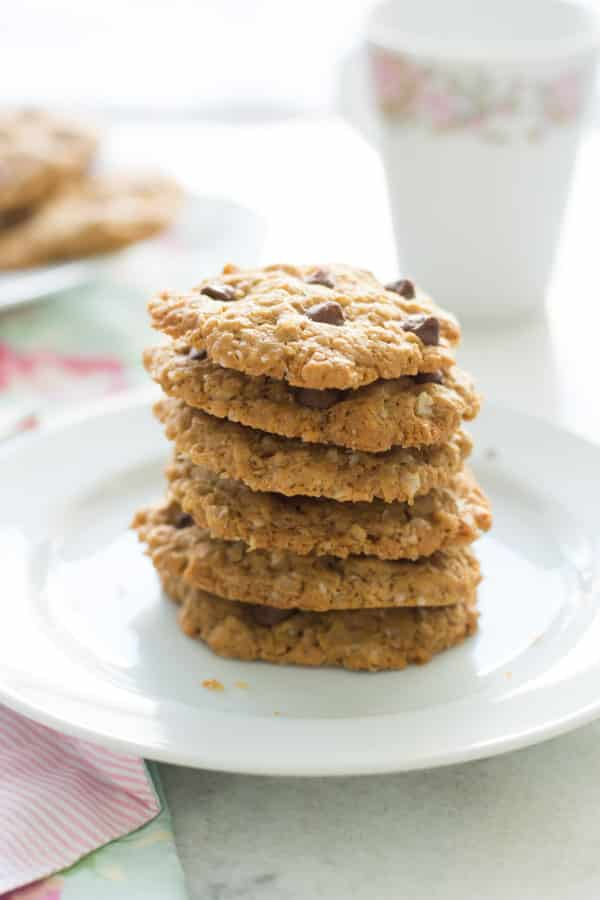 Healthy Peanut Butter Oatmel Cookies-2