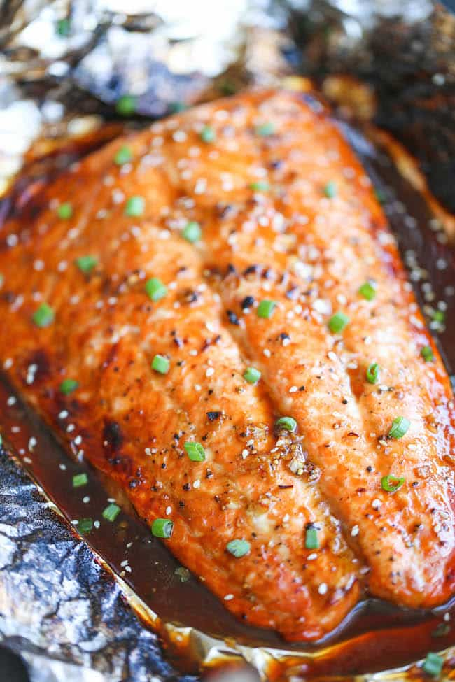 Easy Asian Salmon In Foil Primavera Kitchen Recipe