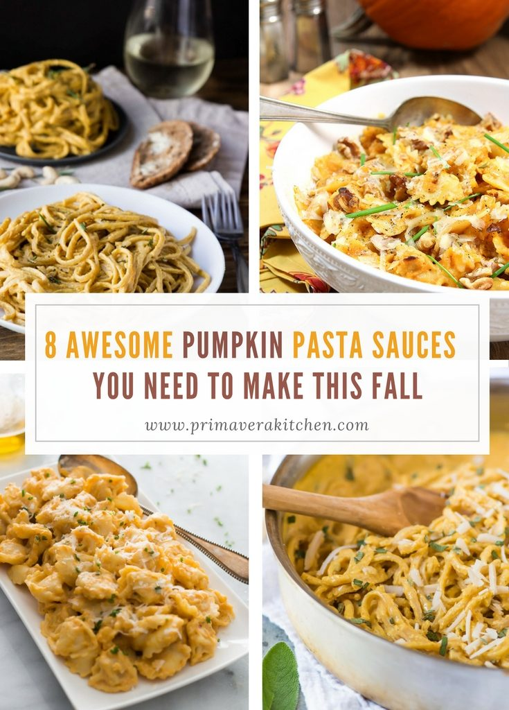 8-awesome-pumpkin-pasta-sauces-you-need-to-make-this-fall - These 8 Awesome Pumpkin Pasta Sauces are the perfect recipes you need to make this fall to celebrate this season. Here you'll find delicious, flavourful, vegan or dairy-free creamy recipes to attend all types of tastes and diets. Enjoy!