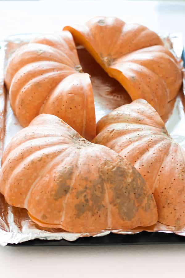 Homemade Pumpkin Puree - This is a simple and easy way to prepare Homemade Pumpkin Puree. It's perfect for fall baking!