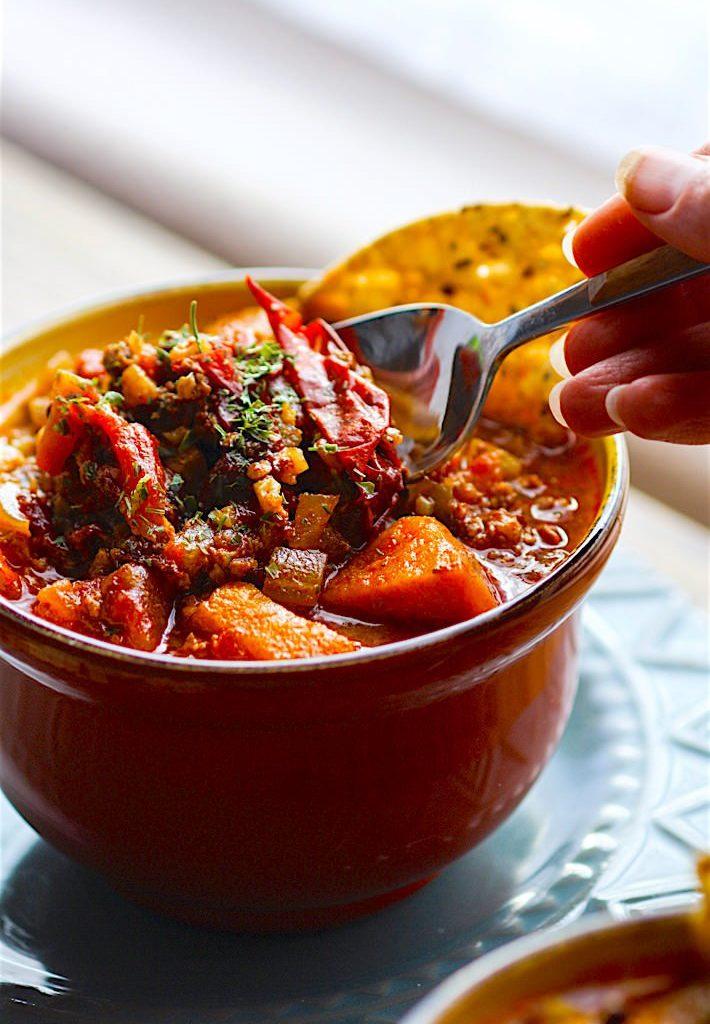 pork-chipotle-chili- Healthy Chili Recipes
