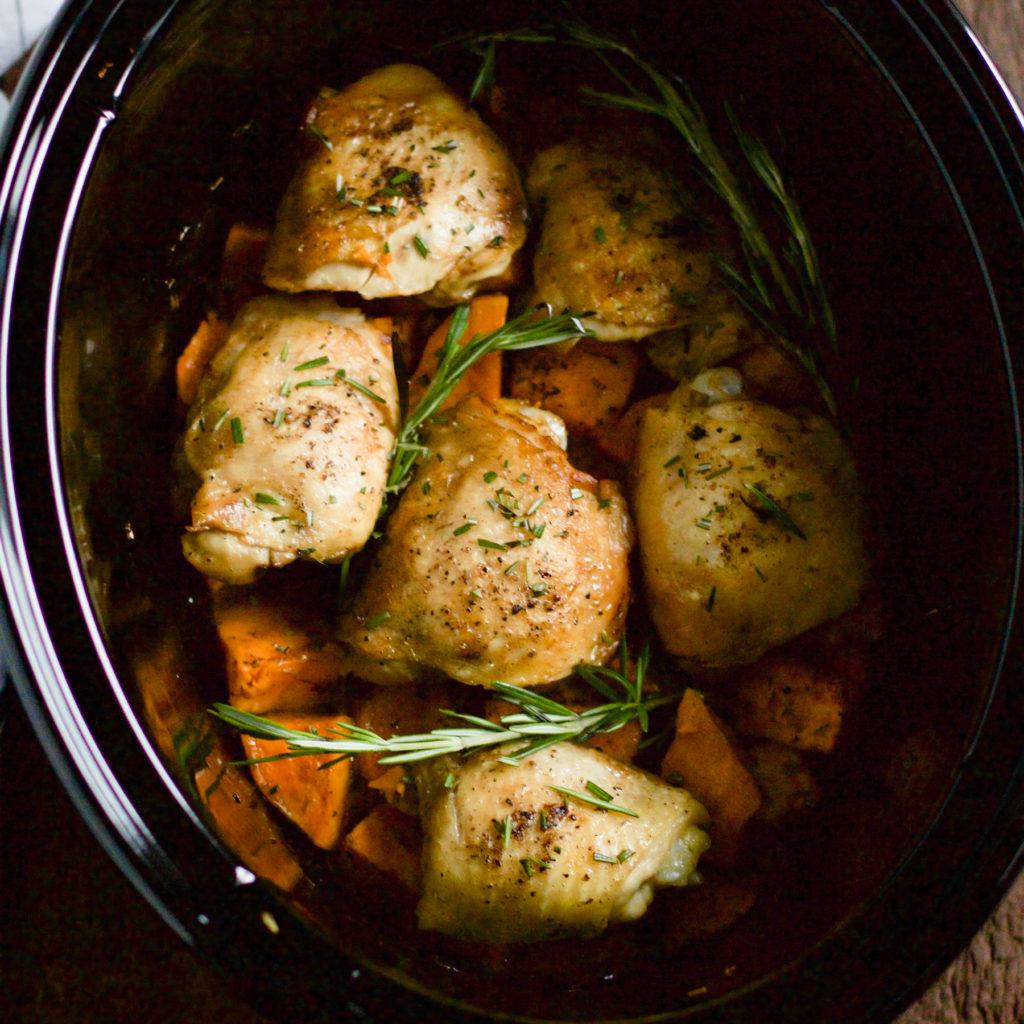 Slow Cooker Sweet Potato Primavera Kitchen Recipe