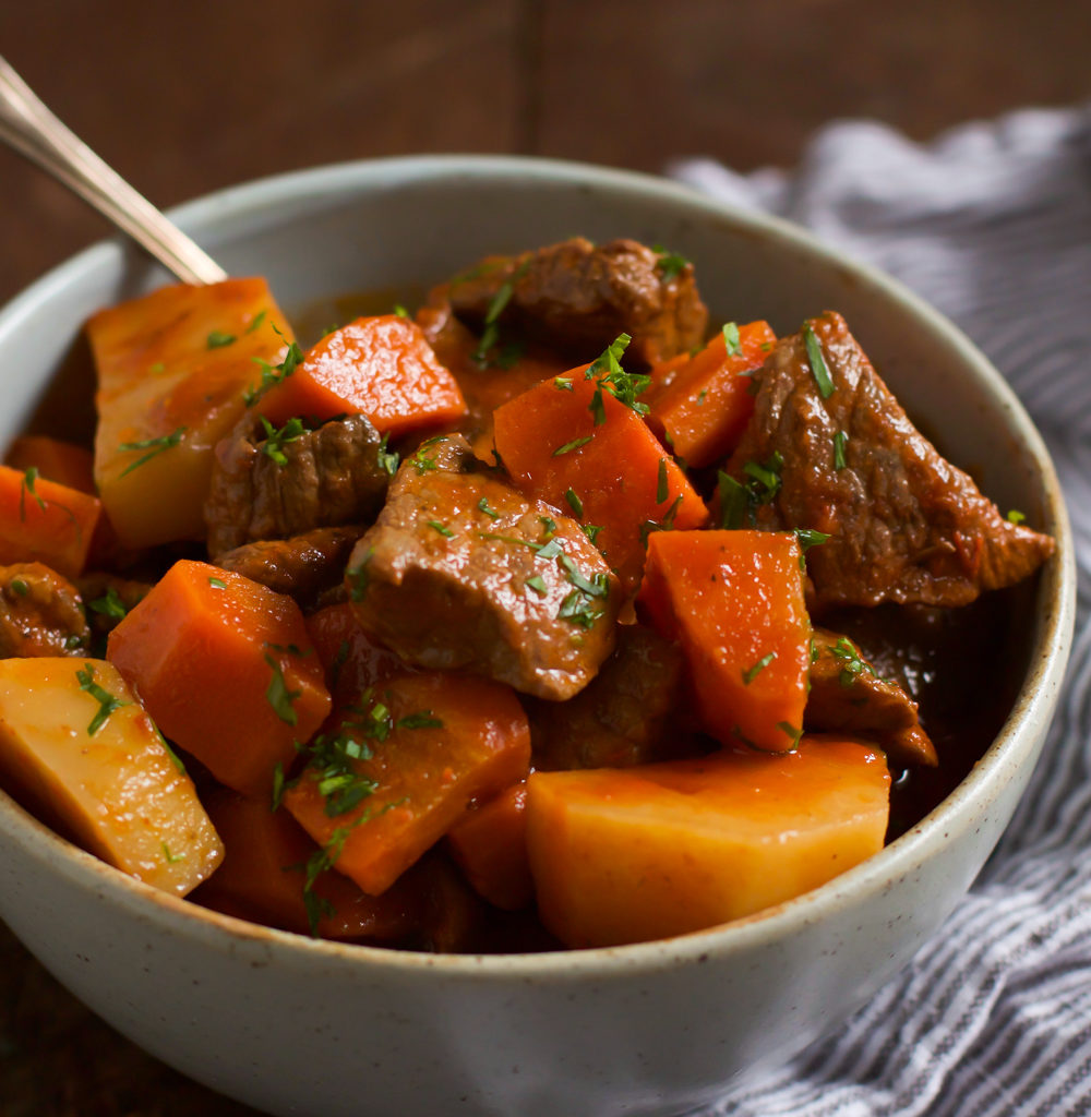 Slow Cooker Red Wine Beef Stew Primavera Kitchen Recipe