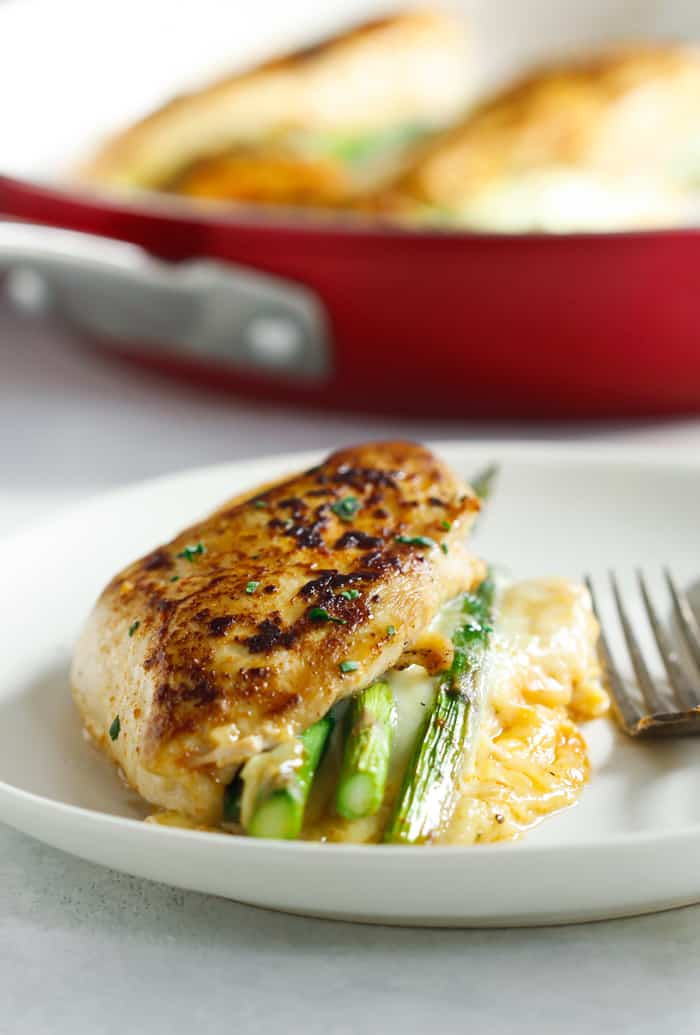 Asparagus Stuffed Chicken Breast Primavera Kitchen Recipe