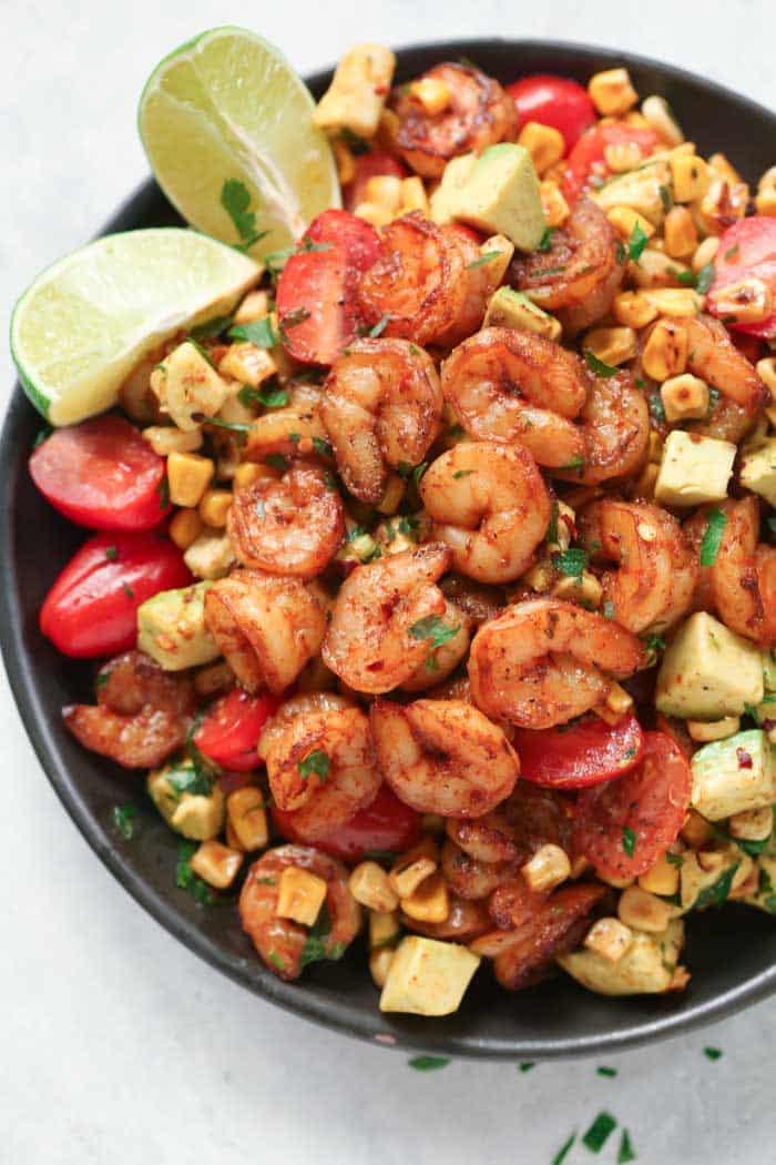 Corn Shrimp Salad Recipe.