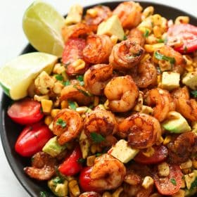 Corn Shrimp Salad Recipe.
