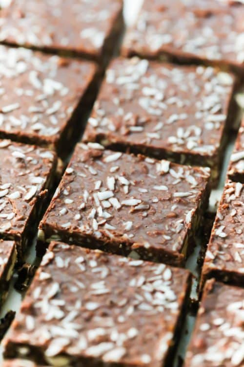 Low-Carb No-Bake Chocolate Coconut Bars Primavera Kitchen Recipe