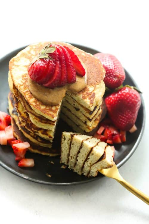3-Ingredient Almond Flour Pancake Primavera Kitchen Recipe