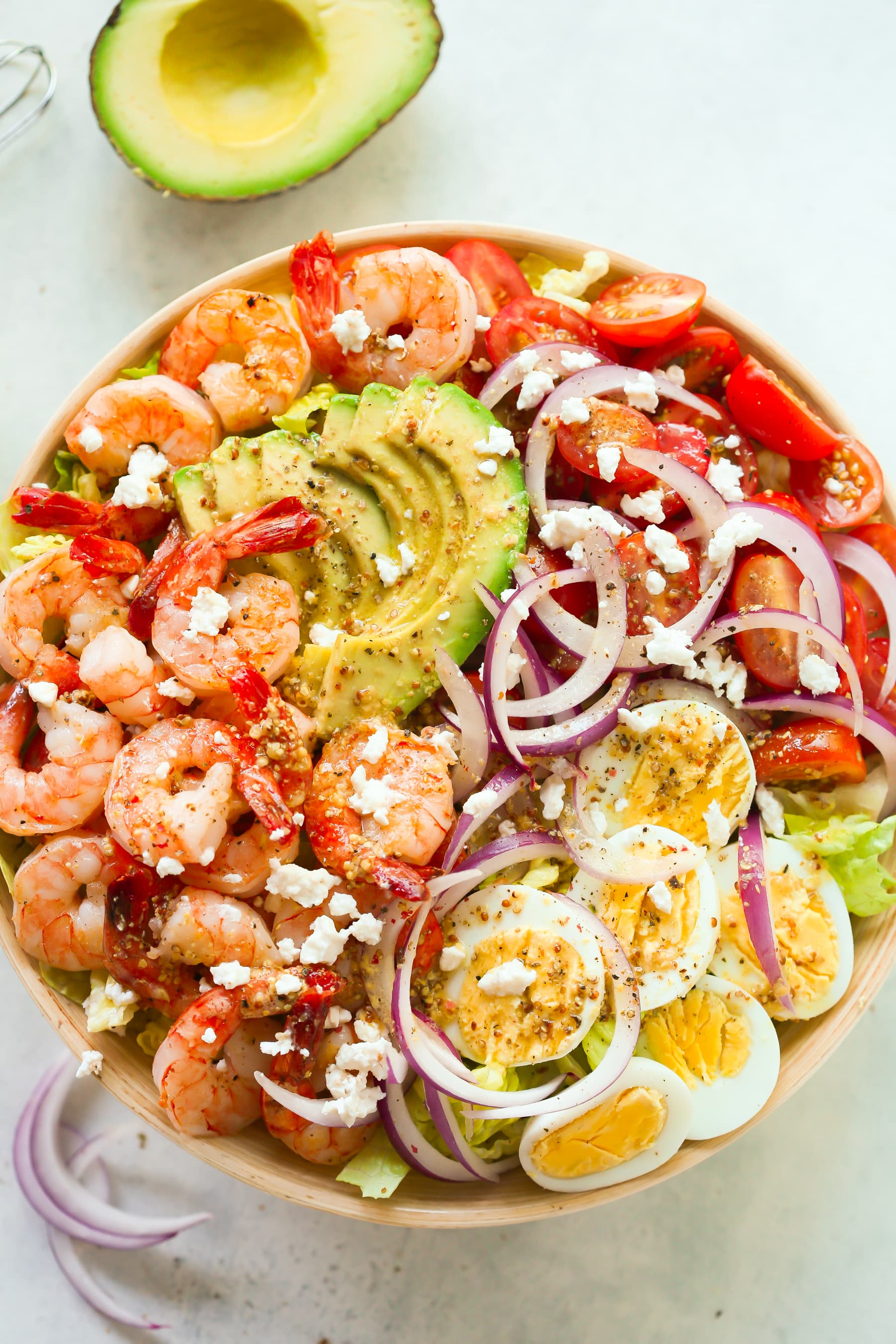 Shrimp Avocado Tomato Salad Primavera Kitchen Recipe