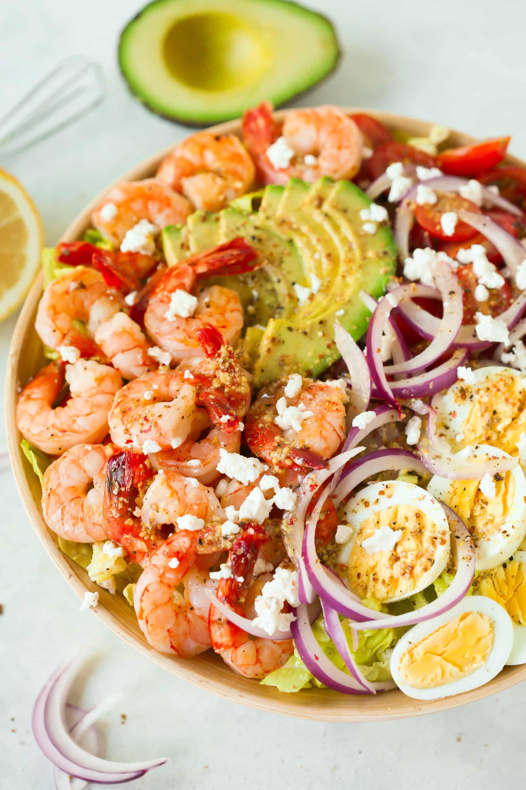 Shrimp Avocado Tomato Salad Recipe.