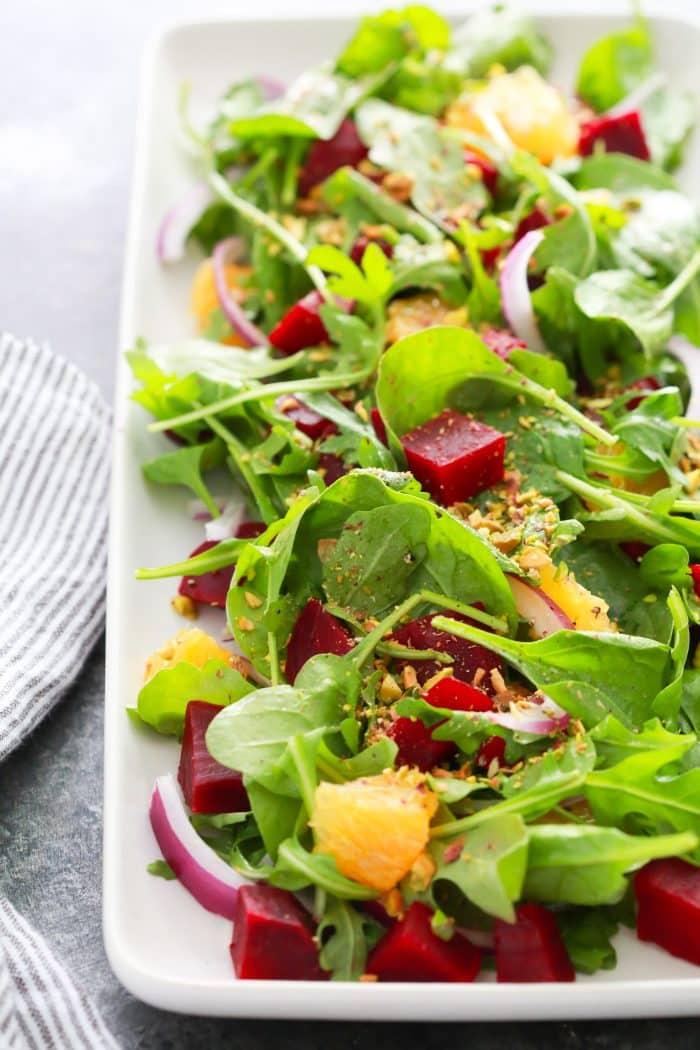 Autumn Beet Orange Salad Recipe Primavera Kitchen