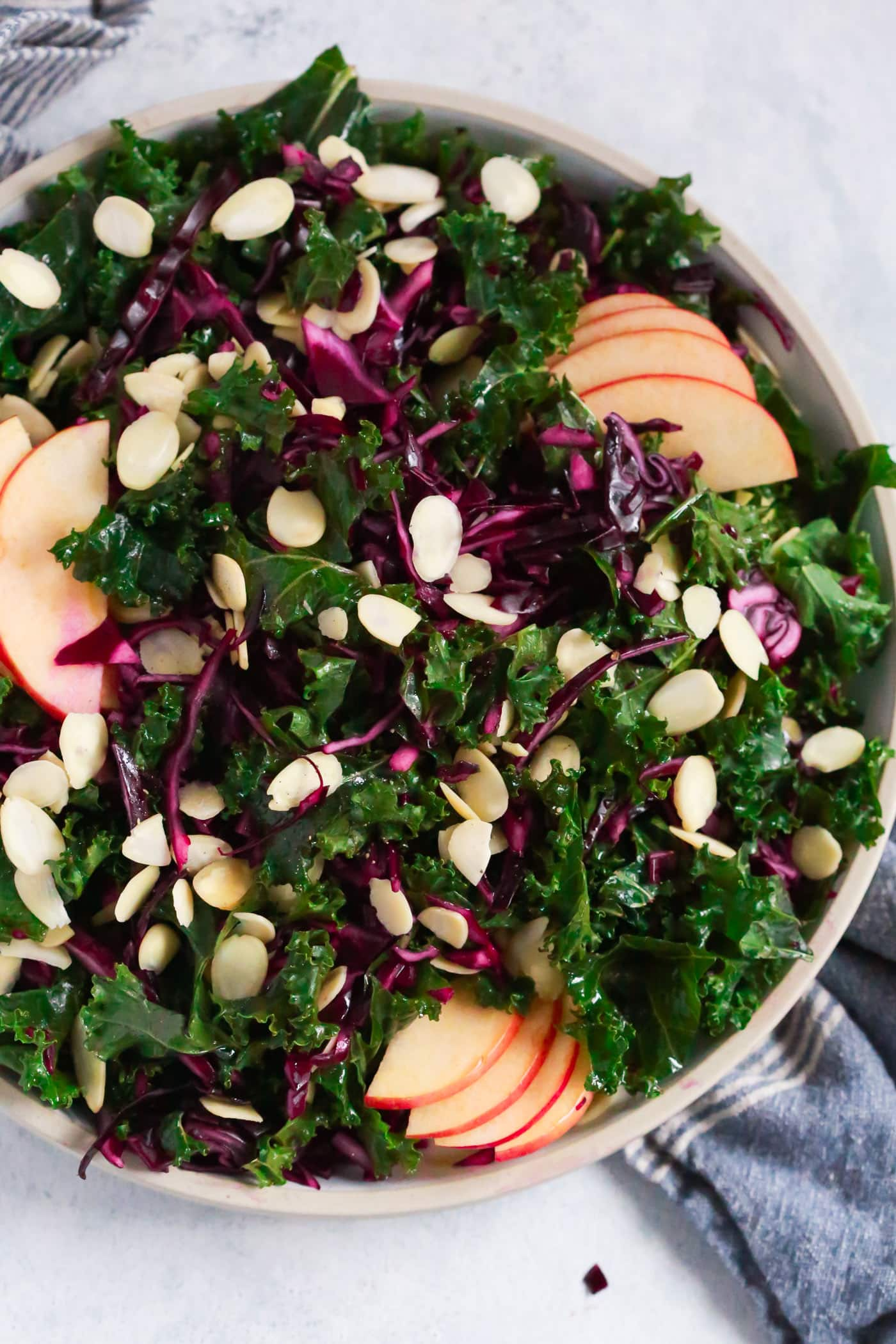Chopped Red Cabbage Kale Salad Primavera Kitchen