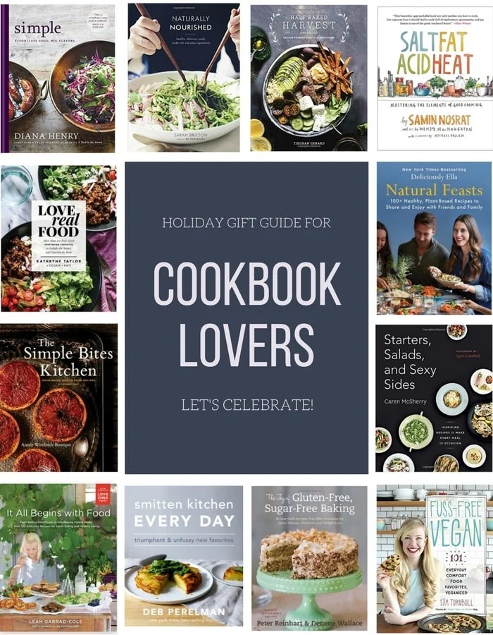 Great Holiday Gift Guide for Cookbook Lovers that you give you awesome gift ideas for your family and friends who love cookbook!