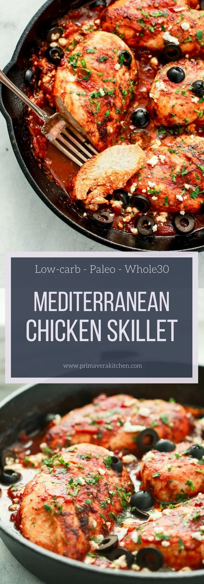 Mediterranean Chicken Skillet Recipe