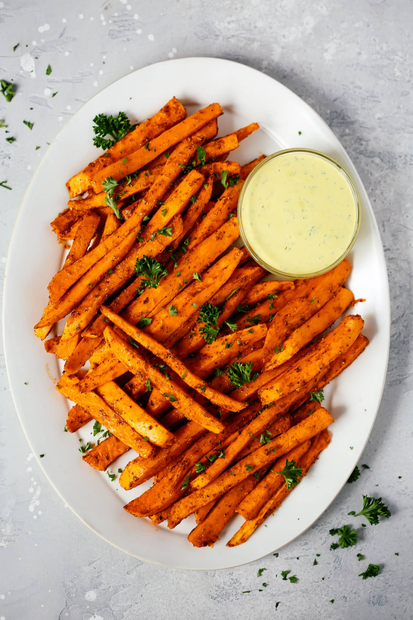 Spicy Baked Sweet Potato Fries Recipe Primavera Kitchen
