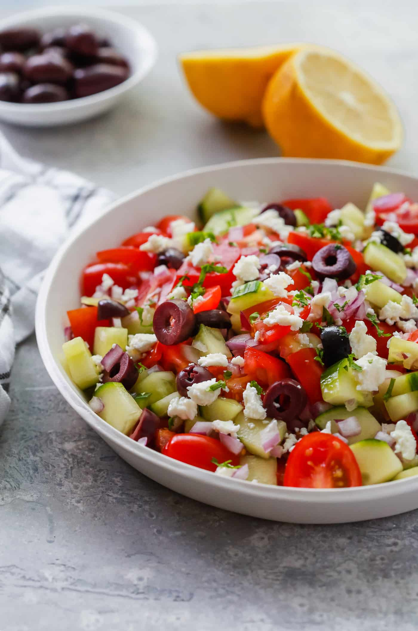 Easy Mediterranean Salad Primavera Kitchen