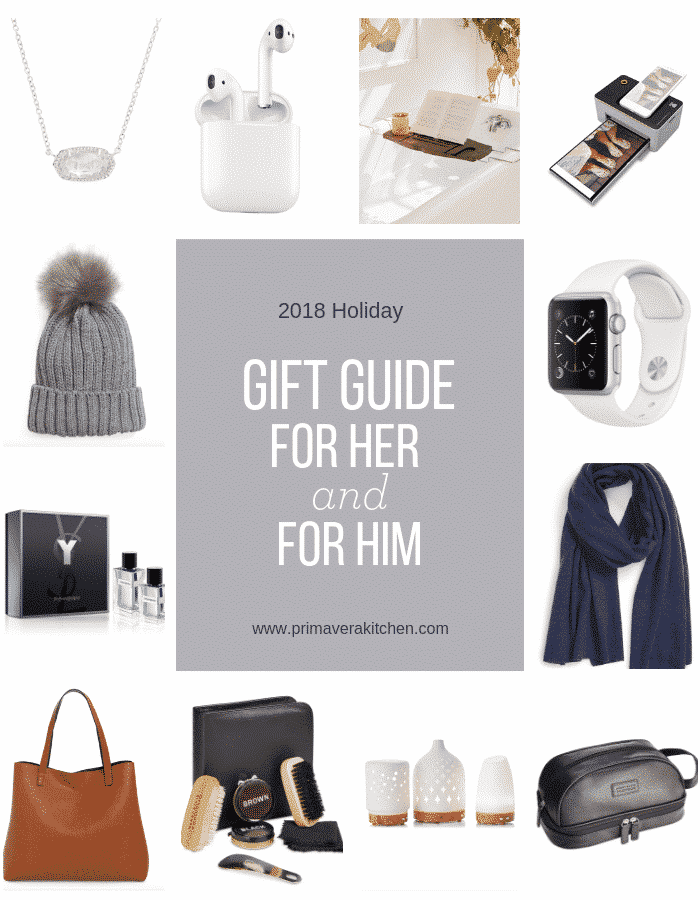 2018 Holiday Gift Guide For Her and For Him