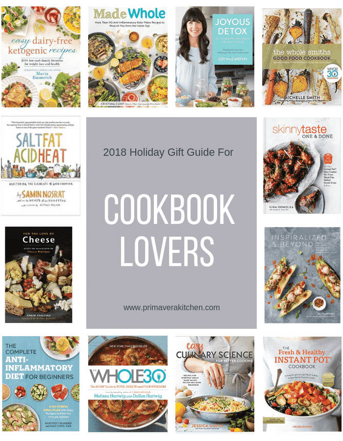 2018 Holiday Gift Guide for Cookbook Lovers