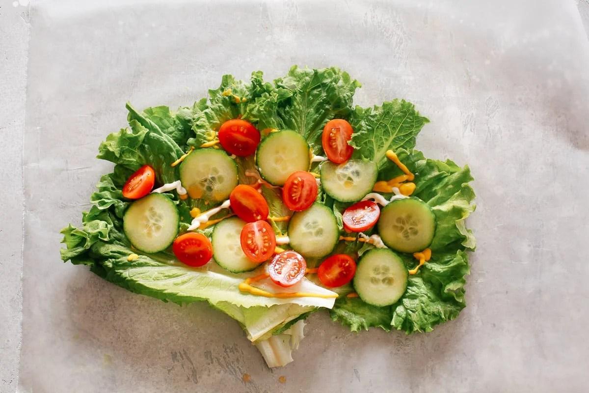 Low-carb Lettuce Wrap Sandwich