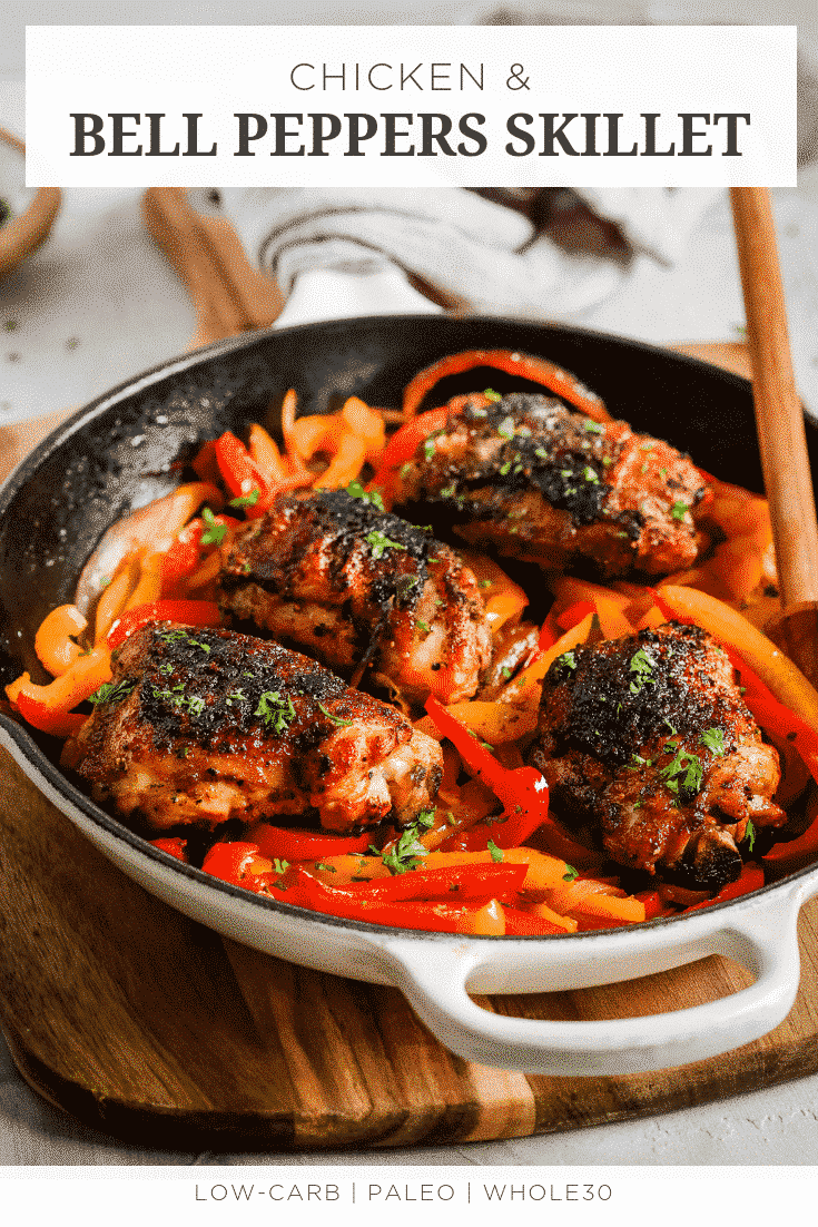 Chicken and Bell Peppers Skillet