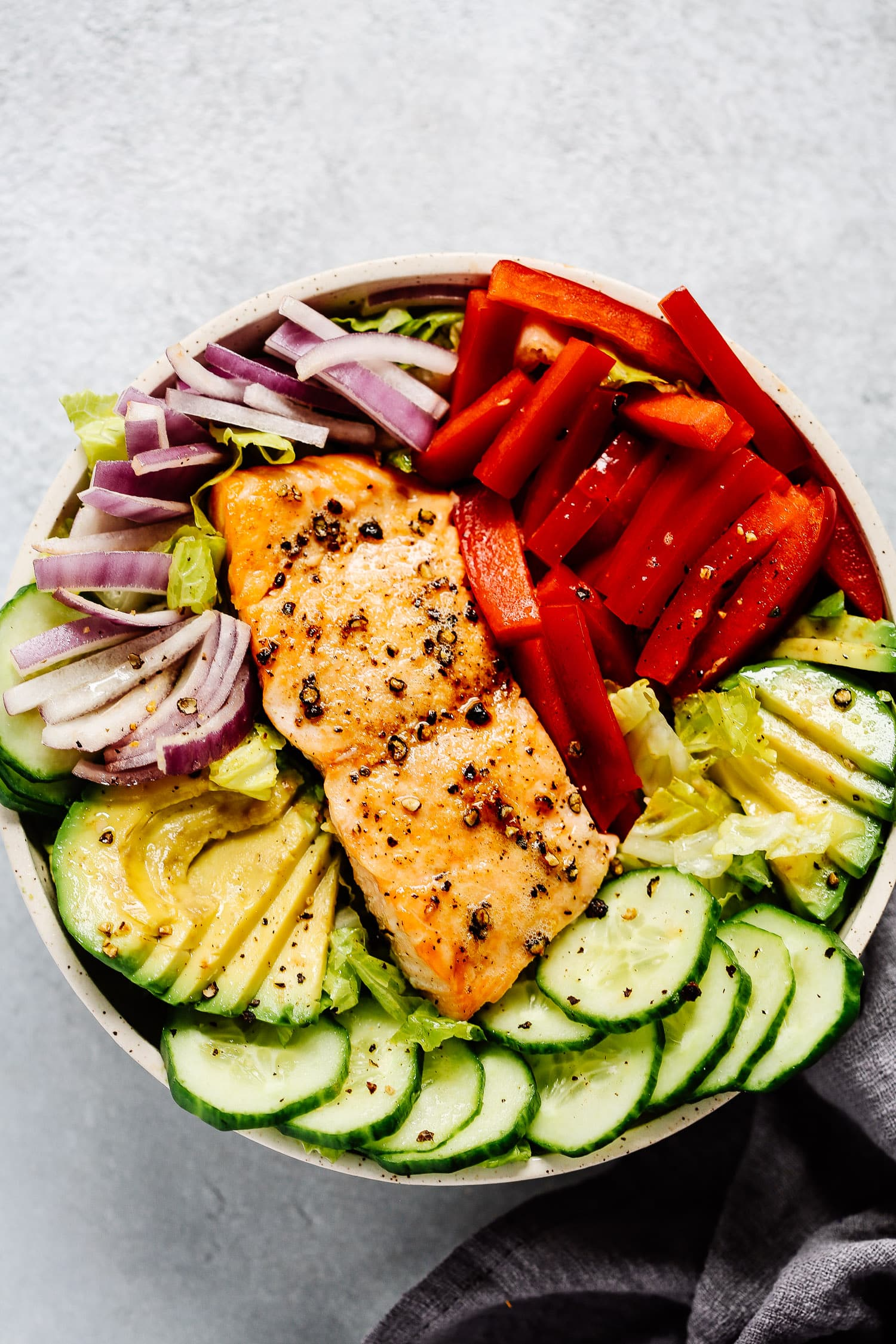 Easy Salmon Salad Recipe