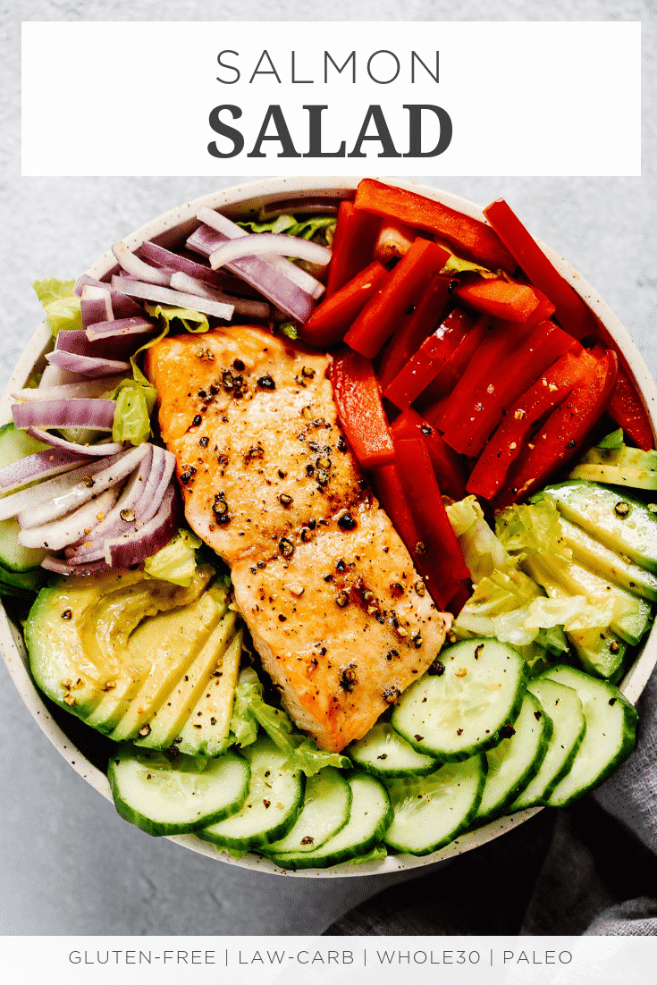 EASY SALMON SALAD