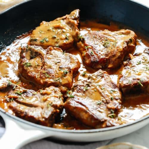 lamb rib chops recipe mustard Lamb Chops with Creamy Mustard Sauce