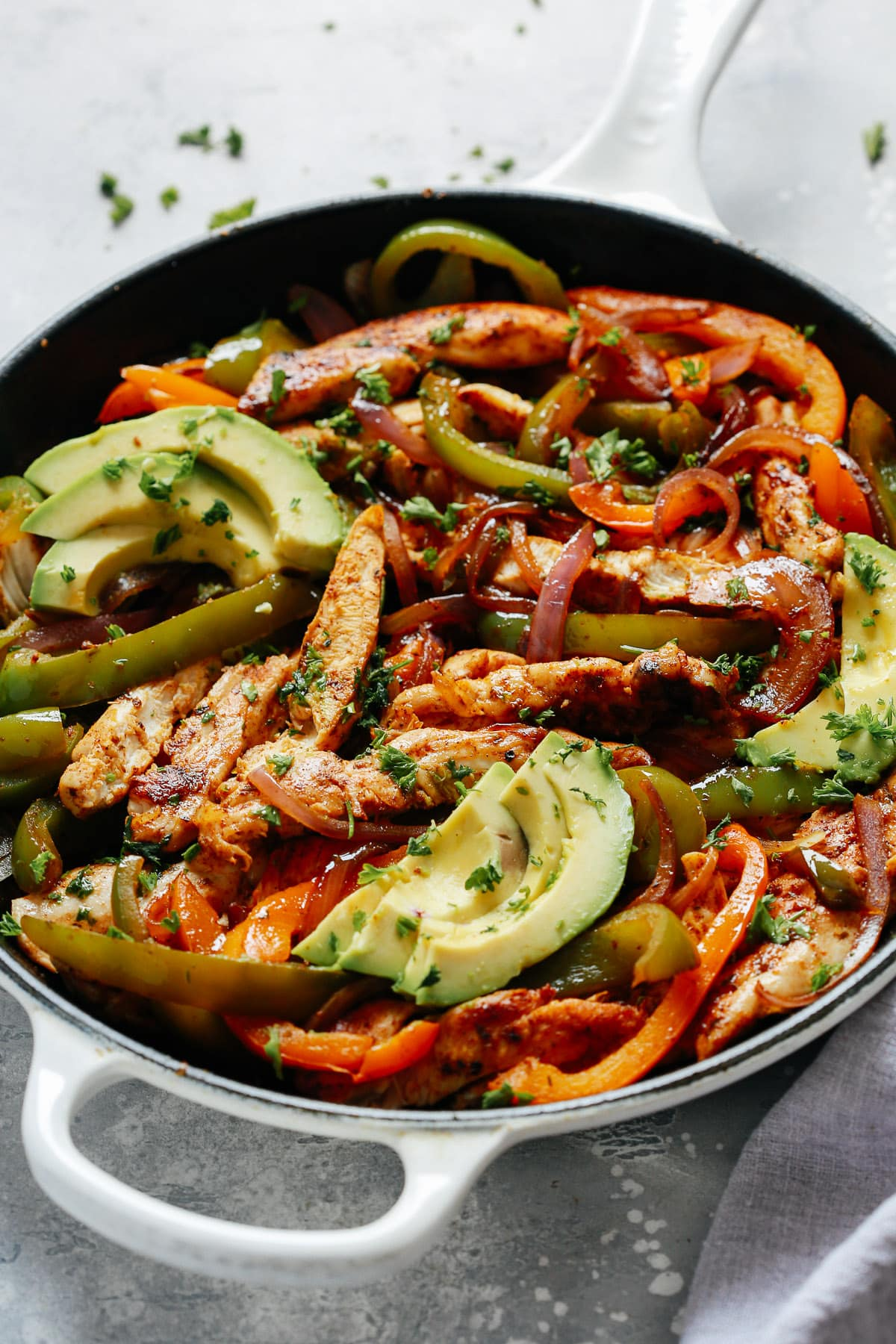Skillet Chicken Fajitas Recipe Primavera Kitchen