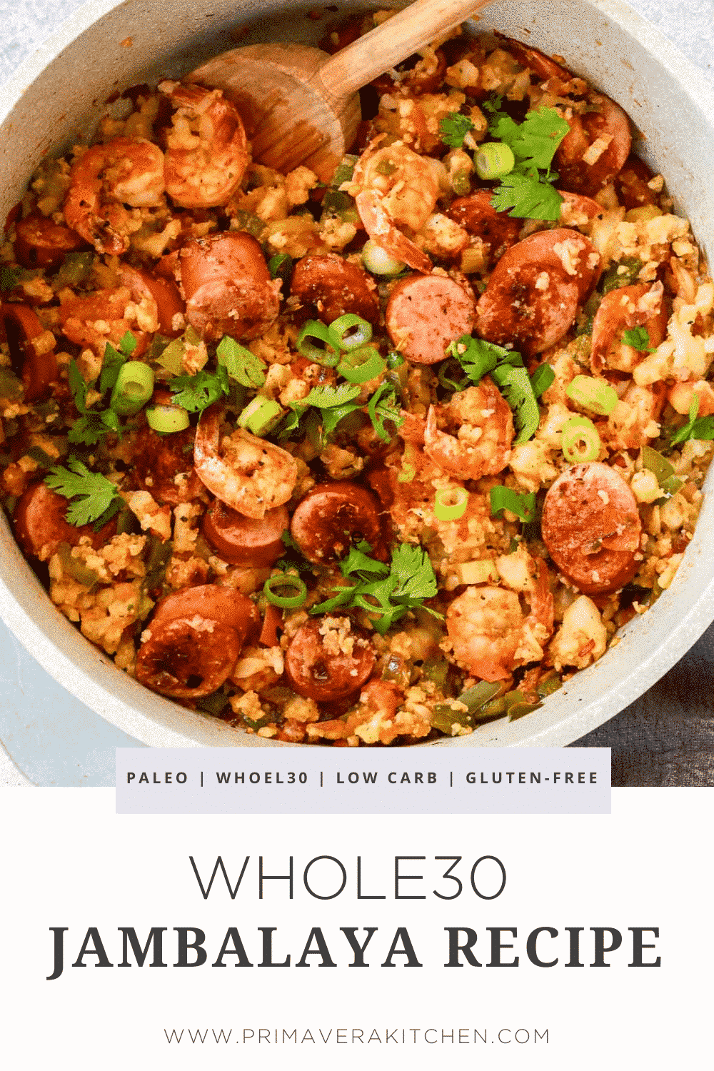 Whole30 Jambalaya Recipe