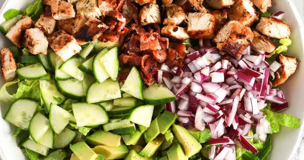 Easy Chopped Chicken Salad Meal Prep Primavera Kitchen